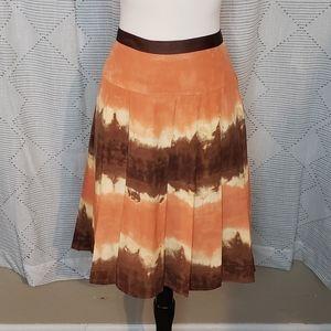 AK Anne Klein ~ Silk Ombre Skirt ~ Size 8